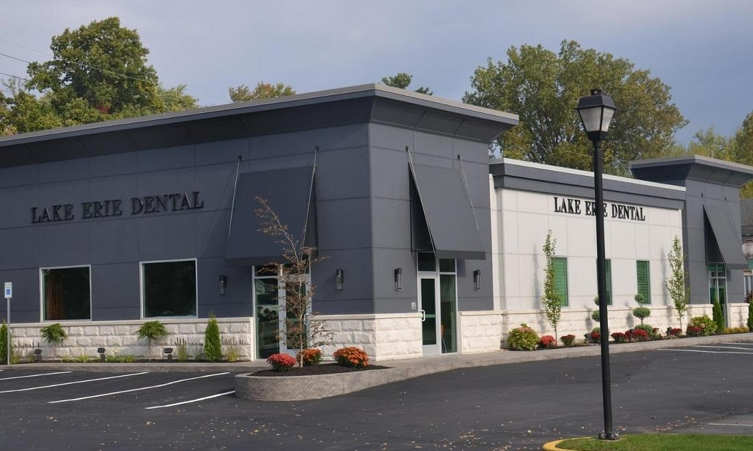 Office Exterior | Lake Erie Dental
