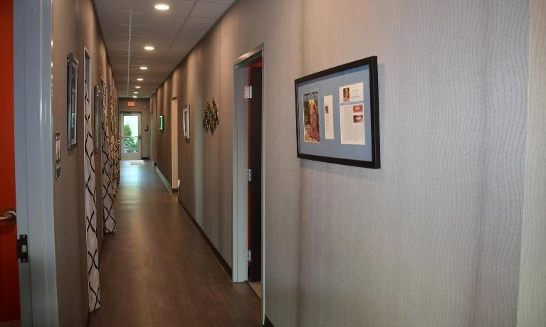 Hallway | Lake Erie Dental